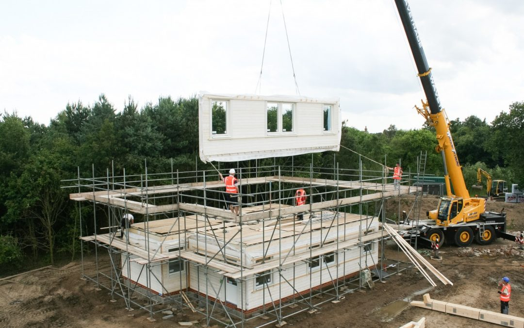 Svenskhomes – Perfect Timber Frame to Build During Winter – Time Lapse Video