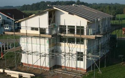 Frufallan Show Home Construction Video