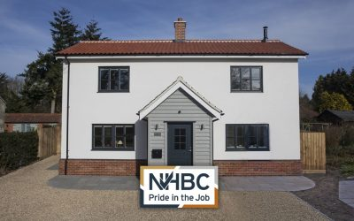 """NHBC Press Release – Svenskhomes Receive ""Pride In Job Award""!"